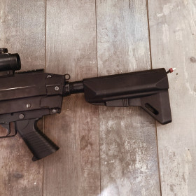 M249 Butt Stock Adapter CNC